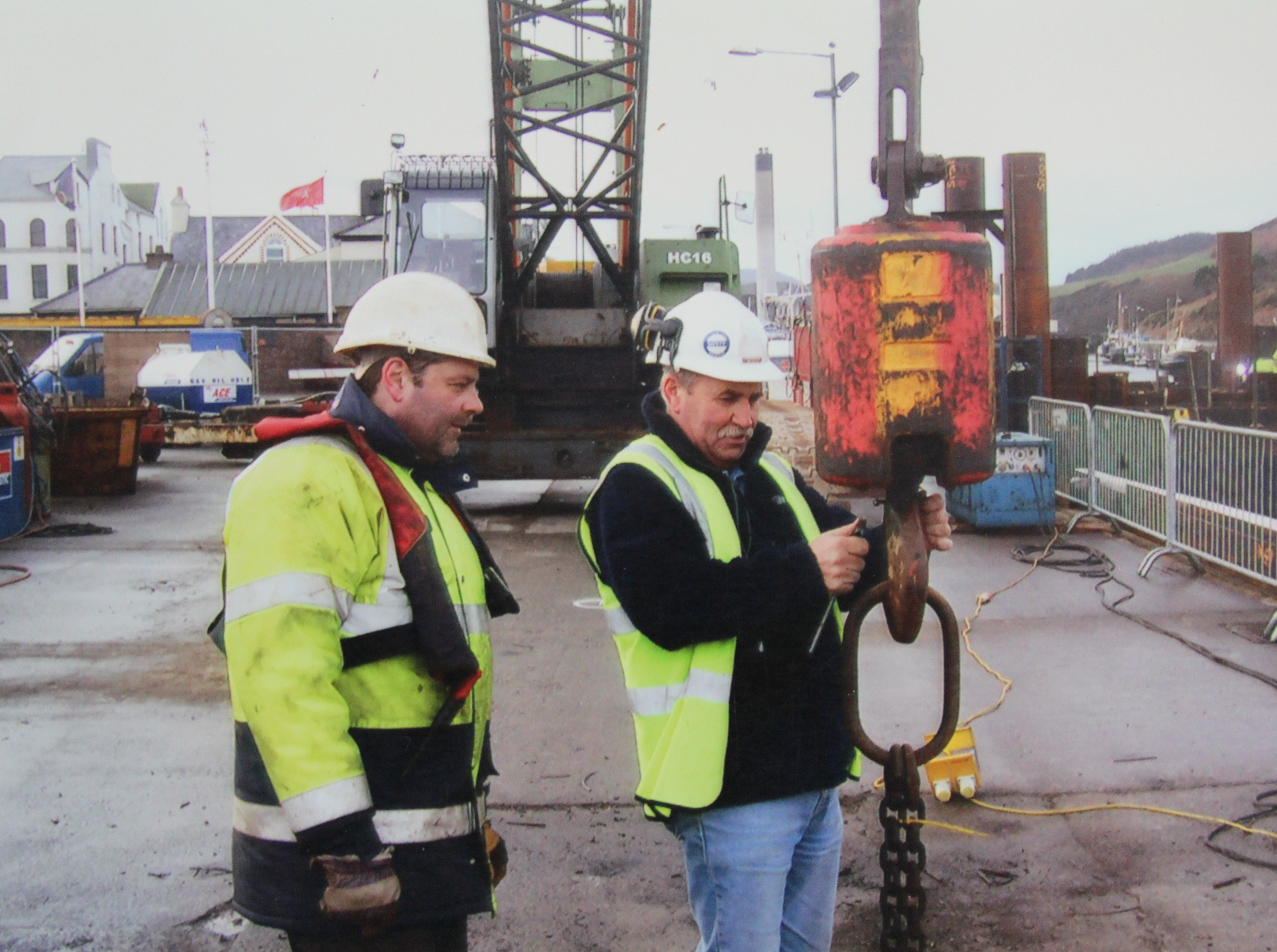 Gallery - Piling Personnel Ltd.Our Paul Newman and our very dear friend, Colin Fitzgerald. Taken in the Isle of Man, what year?